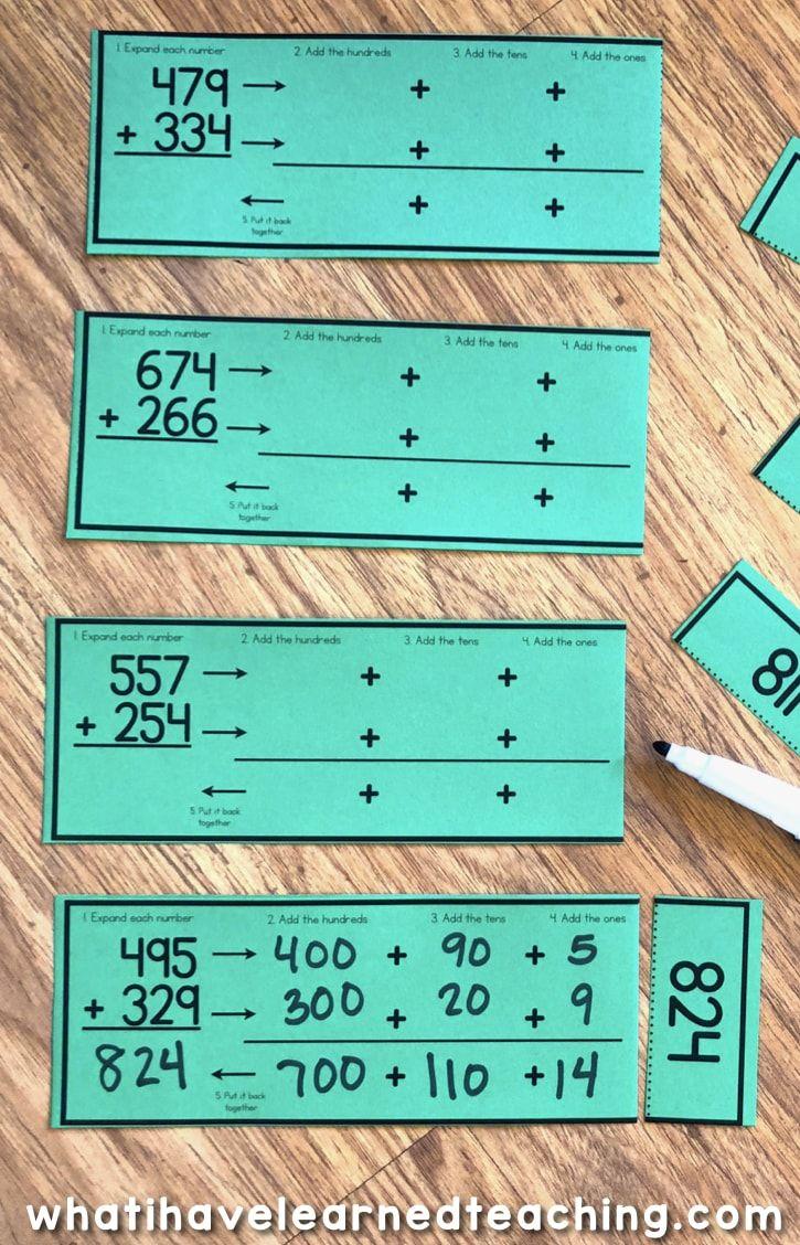 Pin On 3rd Math Addition using break apart strategy