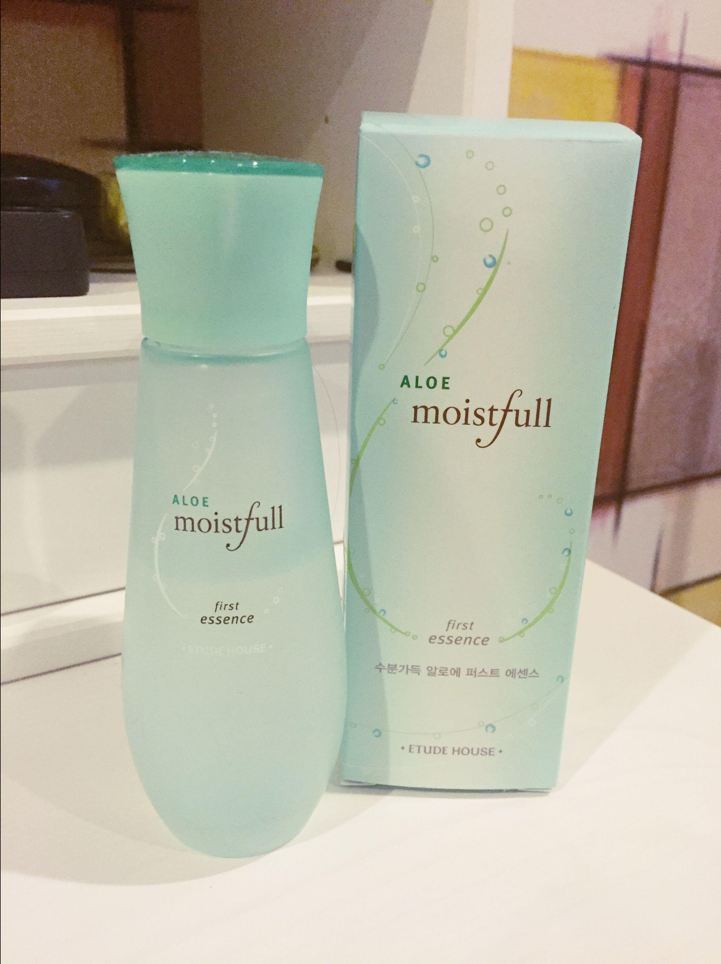 Review Moistfull Aloe First Essence Etude House Dry Skin Types Oily Skin Skin Moisturizer