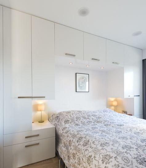 Wardrobe Around Bed Straight Profiles Soverom Interior Soverom Oppbevaring Soverom
