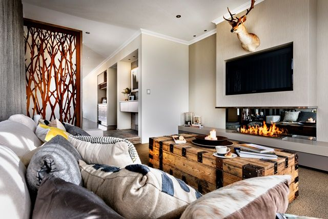 The Archer Dale Alcock Homes Home Sunken Living Room