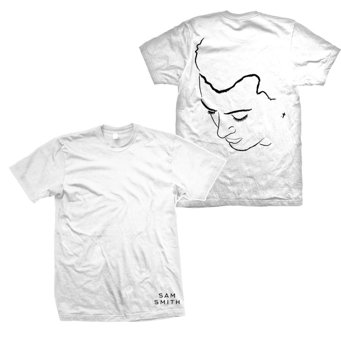 Illustration White T-Shirt S
