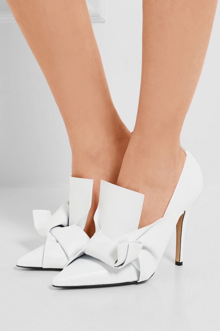 Latest For Sale knotted stiletto sandals - White N Discount Wholesale Price Cheap From China Deals Sale Online 3Yj1U