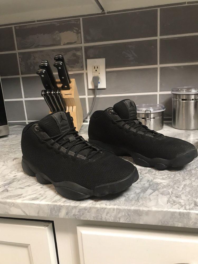best service bd418 ef23c Air Jordan Horizon Lows Black Size 11  fashion  clothing  shoes   accessories
