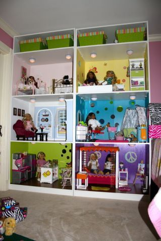 Charming Another Amazing Ikea Pax Dollhouse: