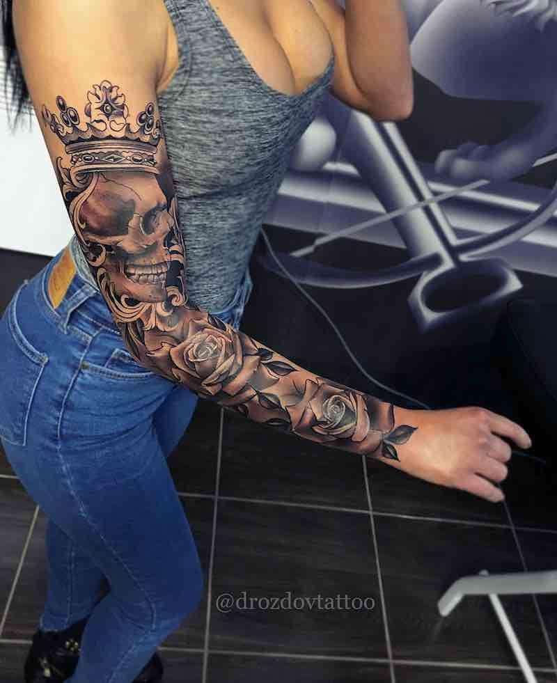 Best Sleeve Tattoos Girls With Sleeve Tattoos Best Sleeve