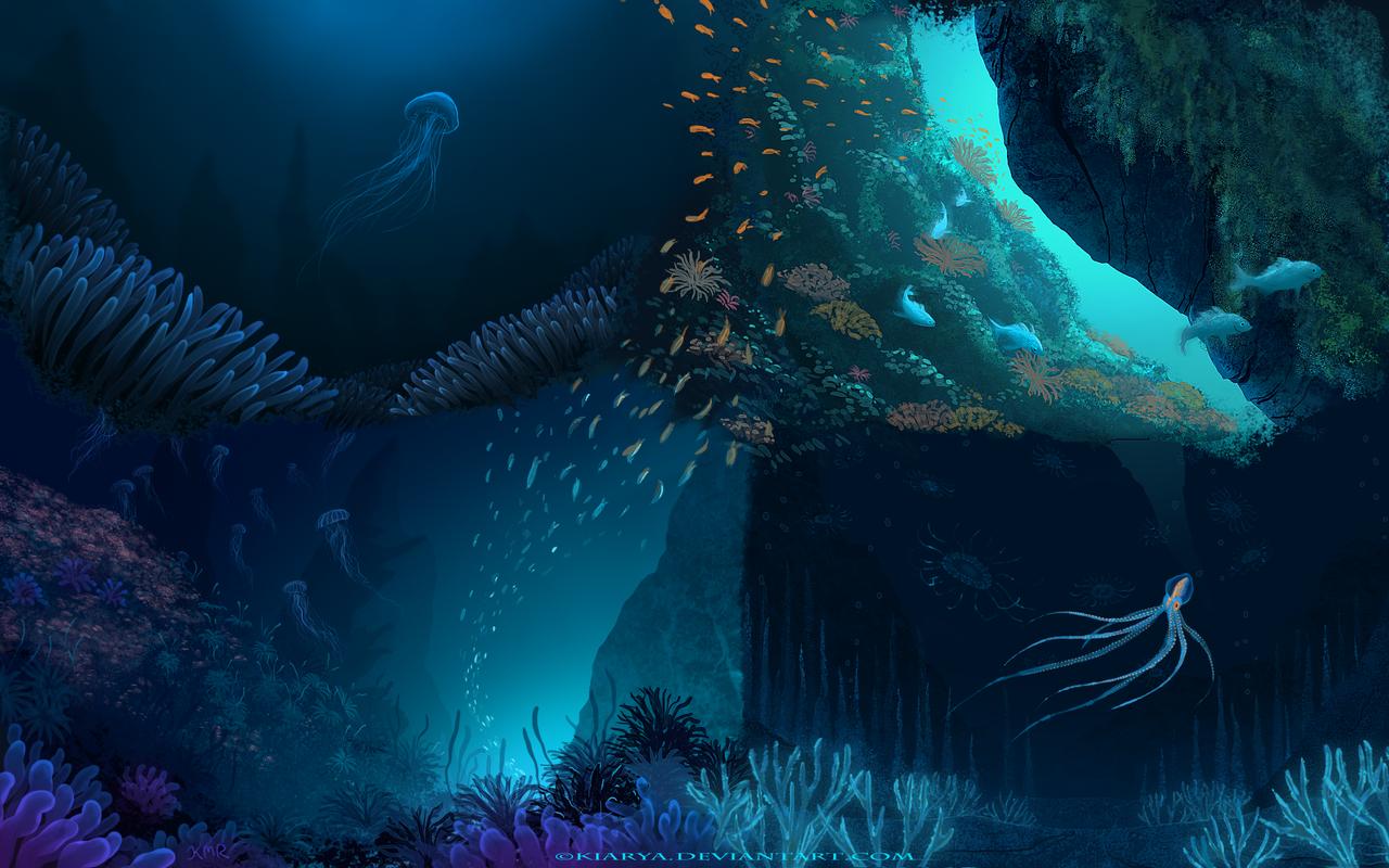 Underwater practice 2 by Kiarya on deviantART | Underwater ...