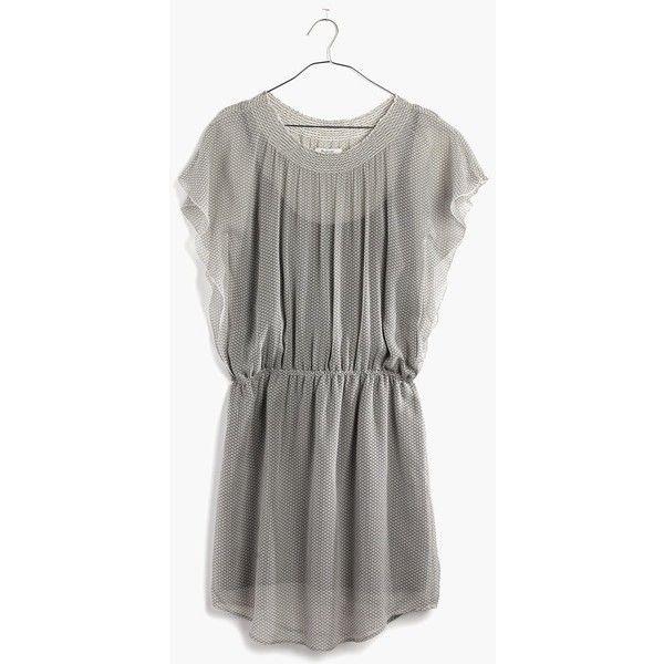MADEWELL Silk Daisy Field Dress ($60) ❤ liked on Polyvore