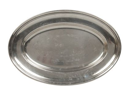 VINTAGE OVAL TRAY - LARGE / $65.00