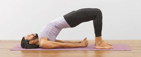 Learn Bridge Pose Setu Bandha Sarvangasana One Of The Best Backbending Yoga Poses