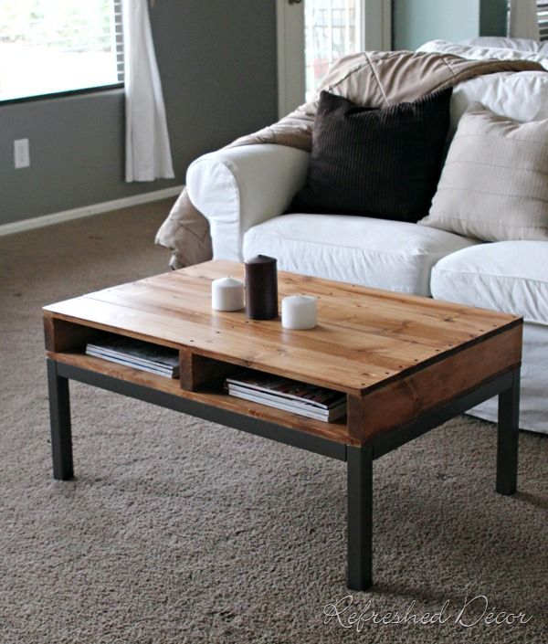 Refreshed Decor Recycled Pallet Coffee Table Oh That 39 S