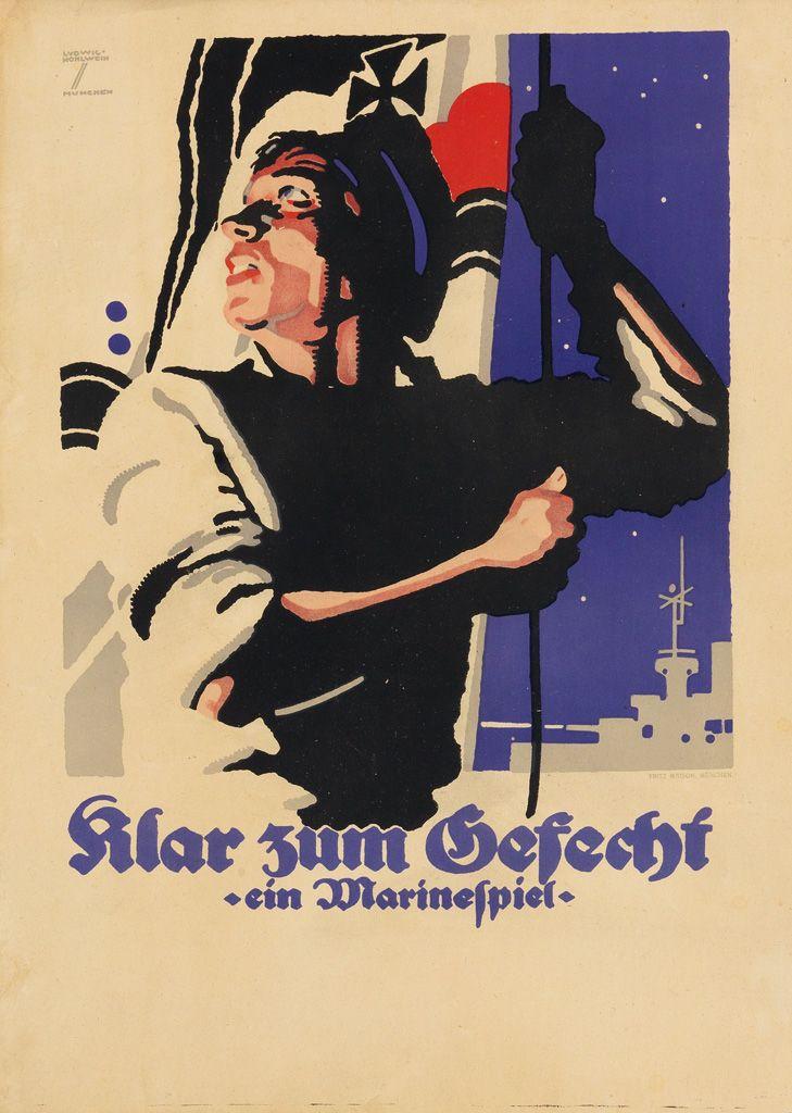 Full Details For Lot 70 Hohlwein Vintage Poster Art Propaganda Art