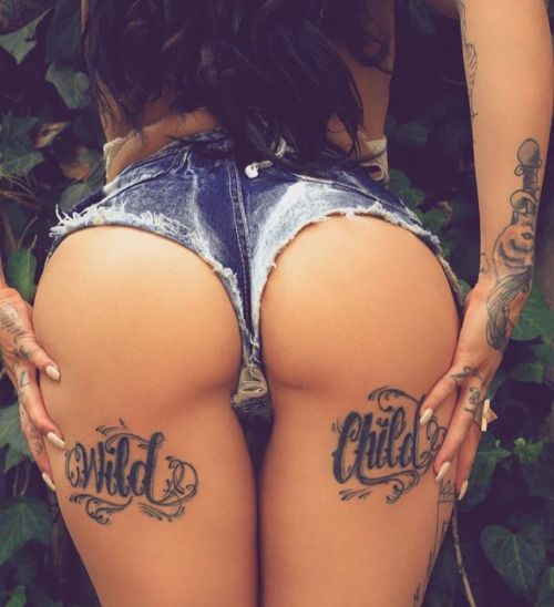 Its A Perfect Ass So I Had No Choice Butt To Save It Beautiful Tattooed Girls Women Daily Pictures For Your Inspiration