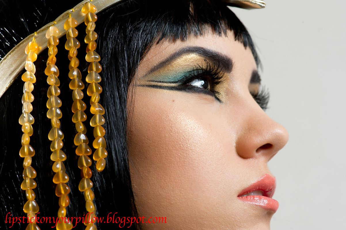 Egyptian Makeup Ideas   Cleopatra Inspired Makeup Look  sc 1 st  Pinterest & Egyptian Makeup Ideas   Cleopatra Inspired Makeup Look   Egyptian ...