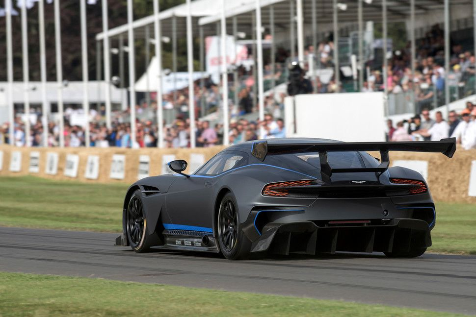 Aston Martin Vulcan Db At Goodwood Festival Of Speed Pictures Specs