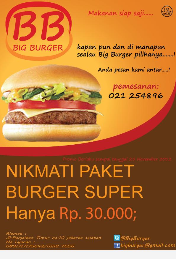 60 Contoh Desain Brosur Makanan Ayeey Com Makanan Makanan Sehat Burger