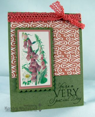 By: Kendra Wietstock; Crafter's Companion (Edwardian Lady Collection)