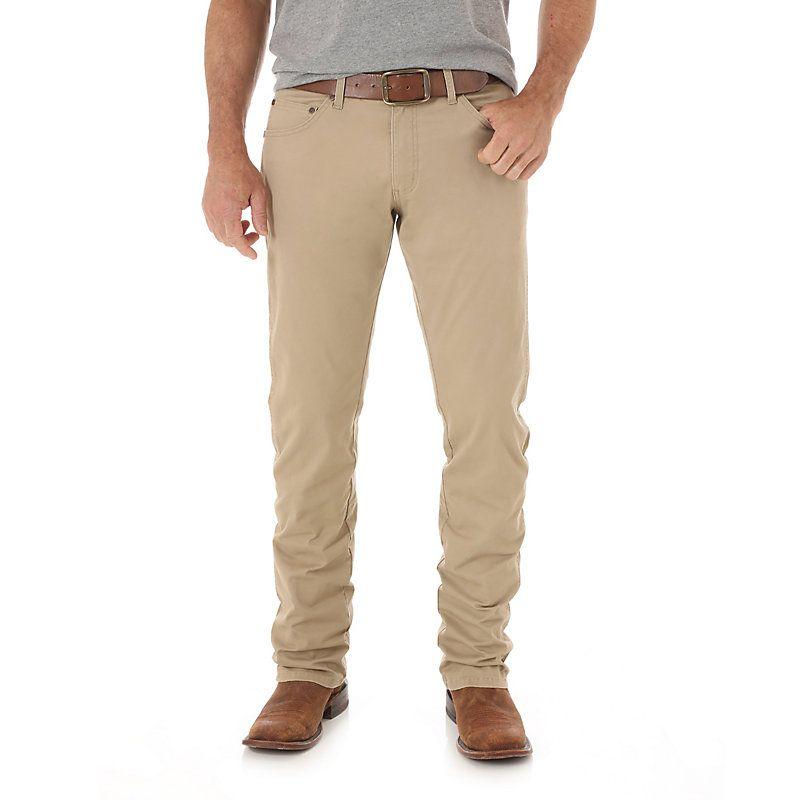 Mens wrangler retro slim fit straight leg pant mens