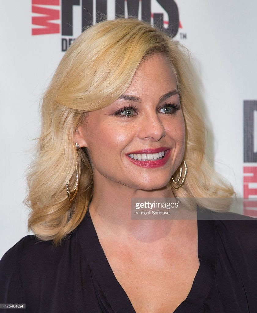 Actress Jessica Collins attends the premiere of 'The Aftermath' at TCL Chinese 6 Theatres on May 31, 2015 in Hollywood, California.