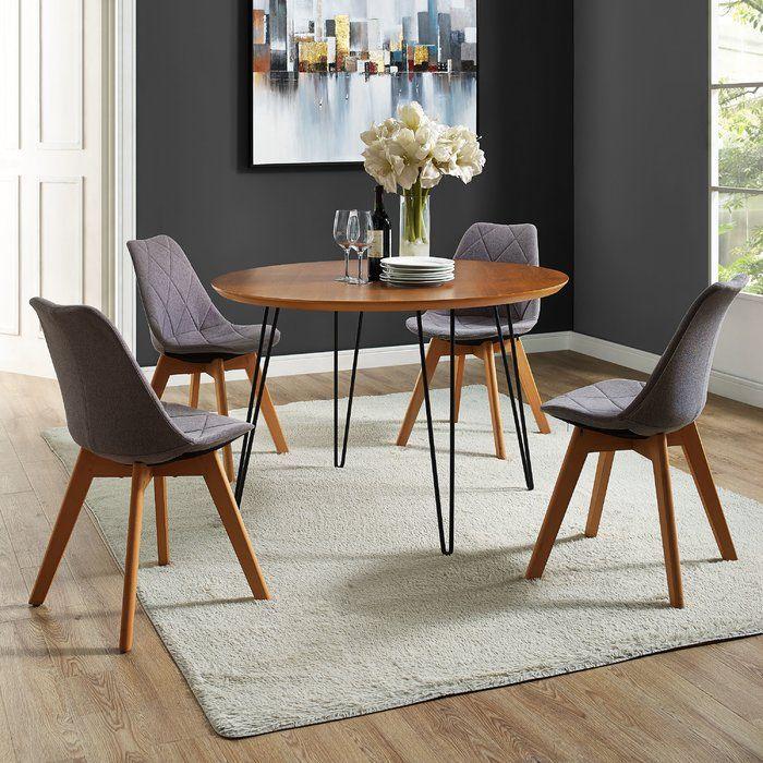 Chrisman Hairpin Dining Table Hairpin Leg Dining Table