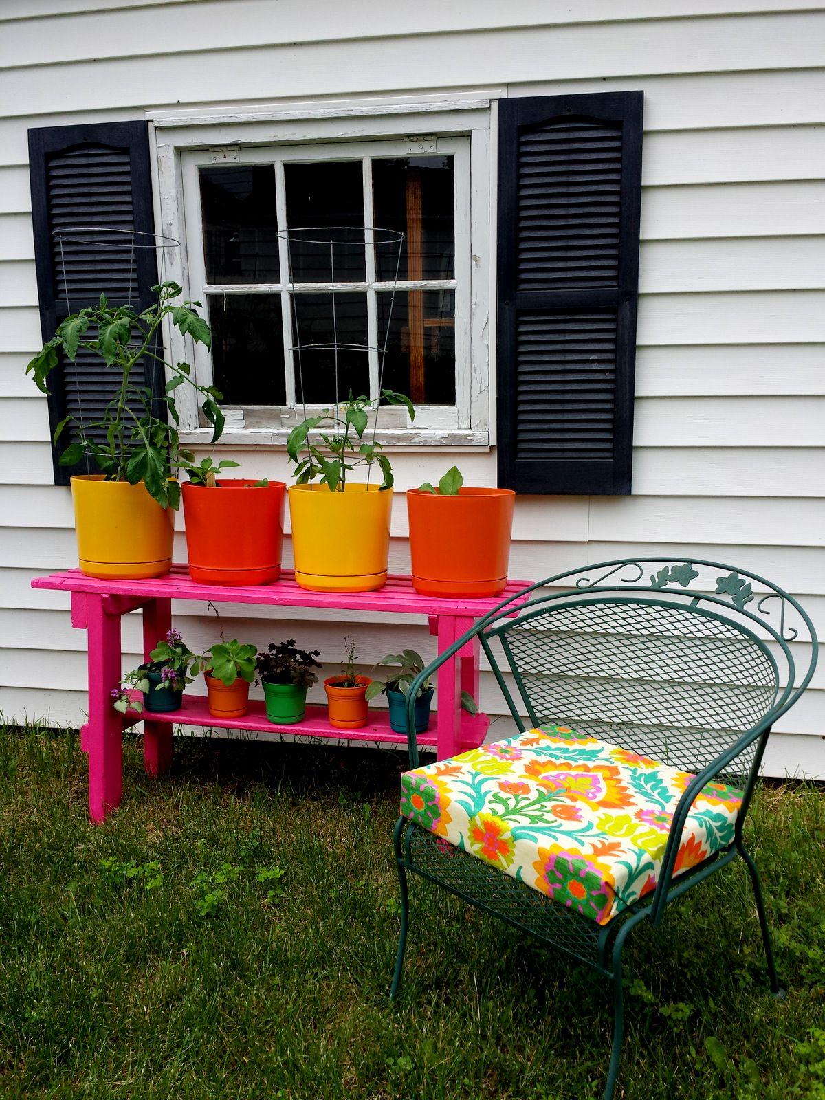 DIY No Sew Patio Seat Cushions Diy patio cushions, Diy