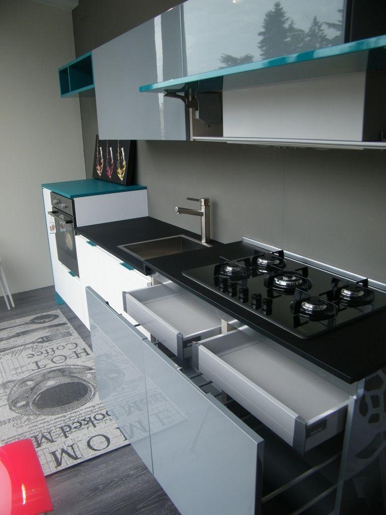 Cucina Berloni Cucine B-50 Laccato Lucido | Cucine, Berloni ...