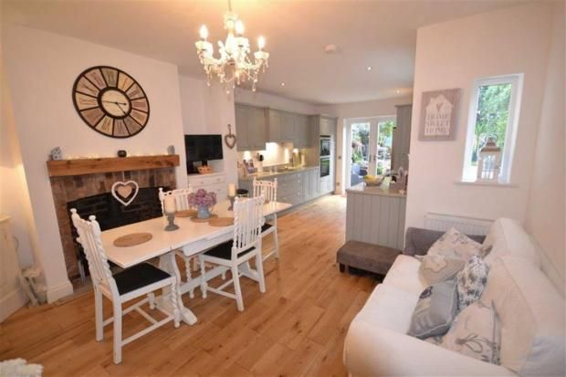 Kitchen dining family room alderley edge 3 bed semi for 3 bedroom house extension ideas