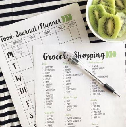 Fitness tracker free food journal 62+ new Ideas #food #fitness
