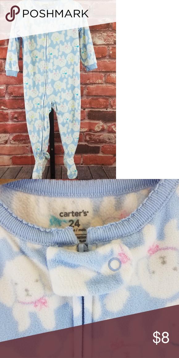 fa56acf2885f Carters fleece footie sleeper pajama Carters fleece footie sleeper ...
