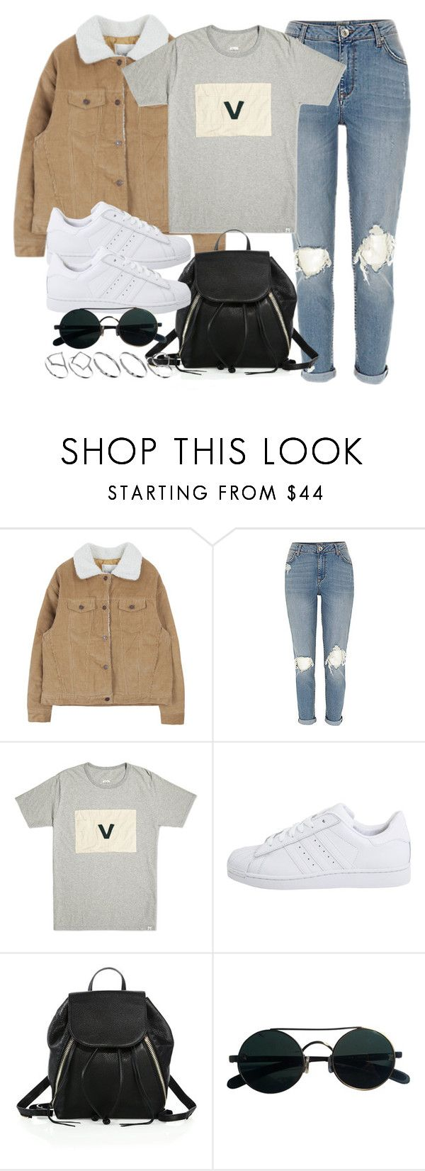 """Style #11662"" by vany-alvarado ❤ liked on Polyvore featuring Visvim, adidas Originals, Rebecca Minkoff and ASOS"