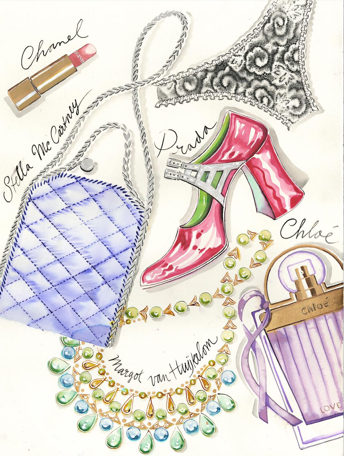 Girl's stuff by Margot Van Huijkelom