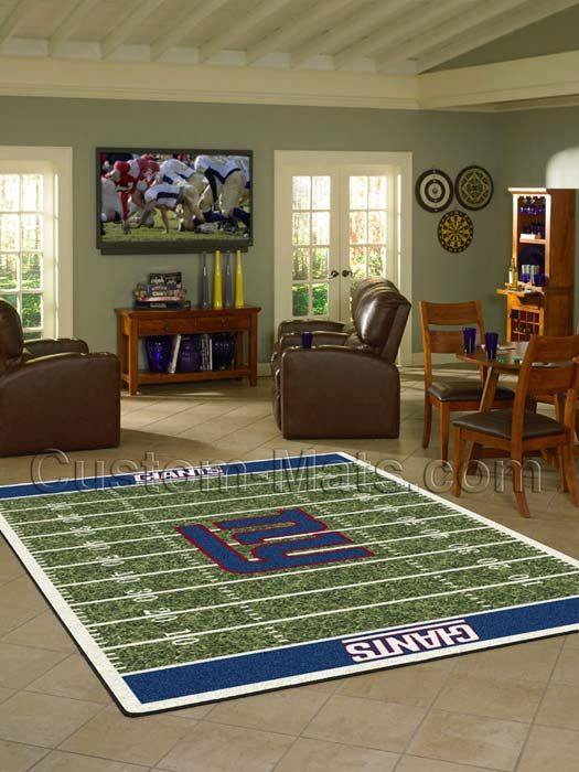 Custom Mats By Gallant | Custom Mats   NY Giants   New York Giants NFL