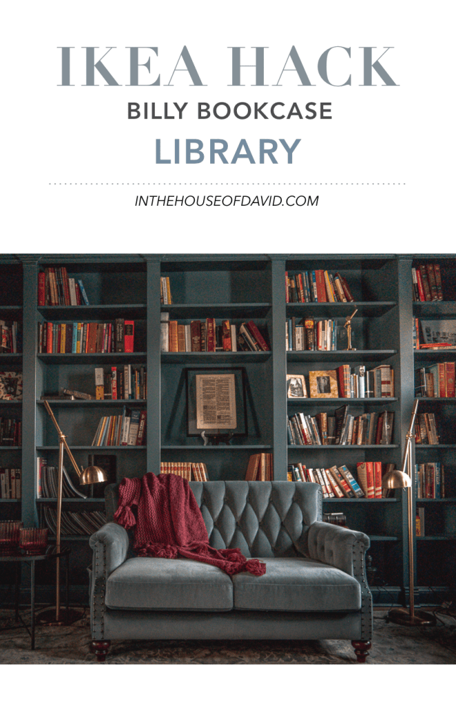 Office to Library Transformation: Billy Bookcase Library Hack