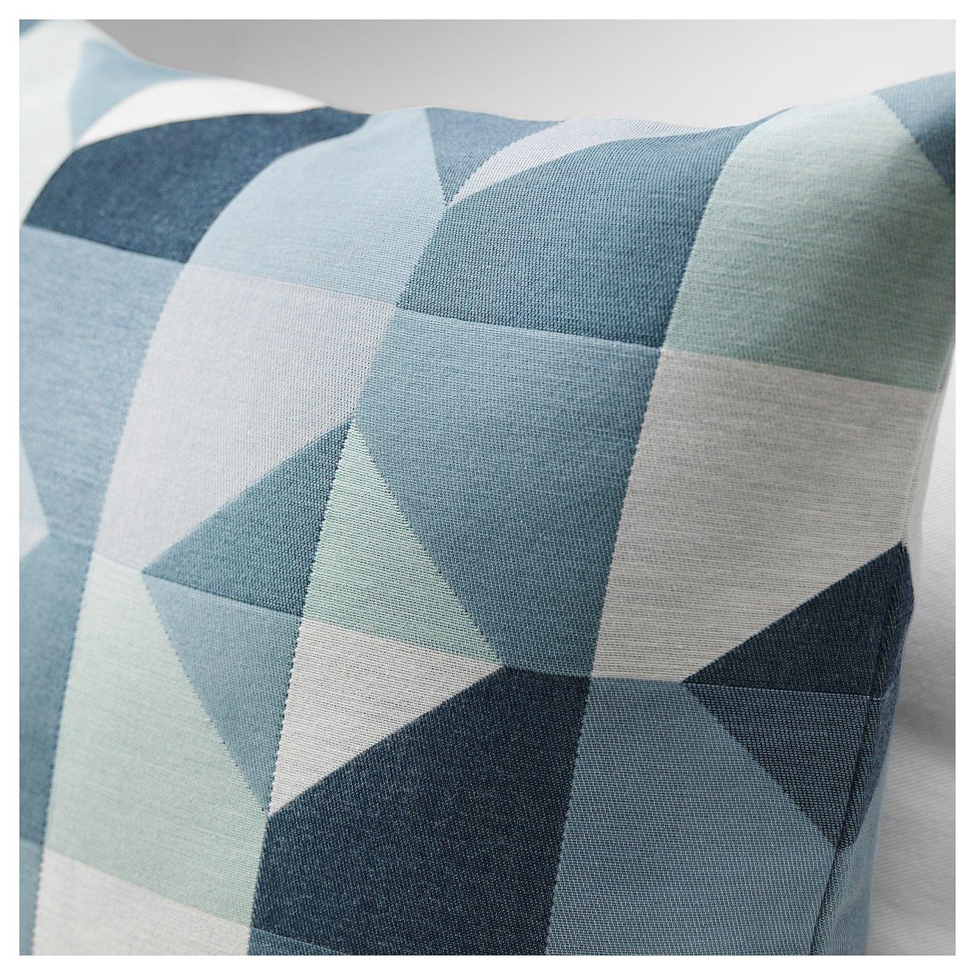 Svartho Cushion Cover Green Blue 20x20 50x50 Cm Ikea