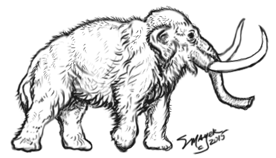 Stacey S Woolly Mammoth To Color In 2021 Free Online Coloring Online Coloring Pages Dinosaur Coloring Pages