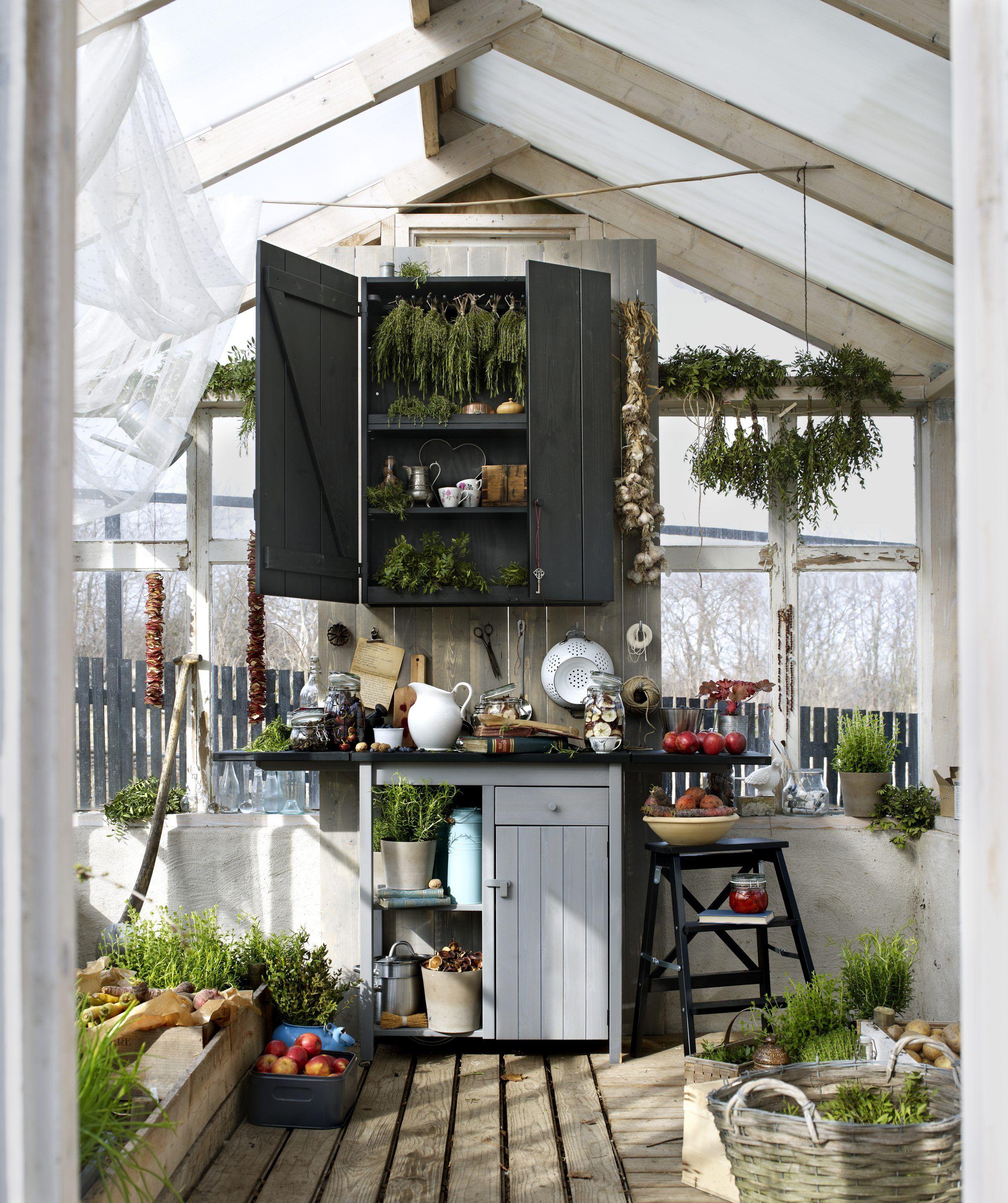US Furniture and Home Furnishings Glashaus, Greenhaus