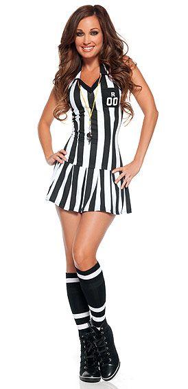 Sexy Referee Costume costumes Pinterest Referee costume - sexiest halloween costume ideas