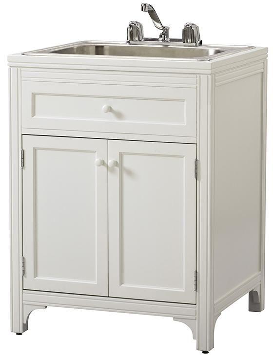 Martha Living Laundry Storage Utility Sink Cabinet