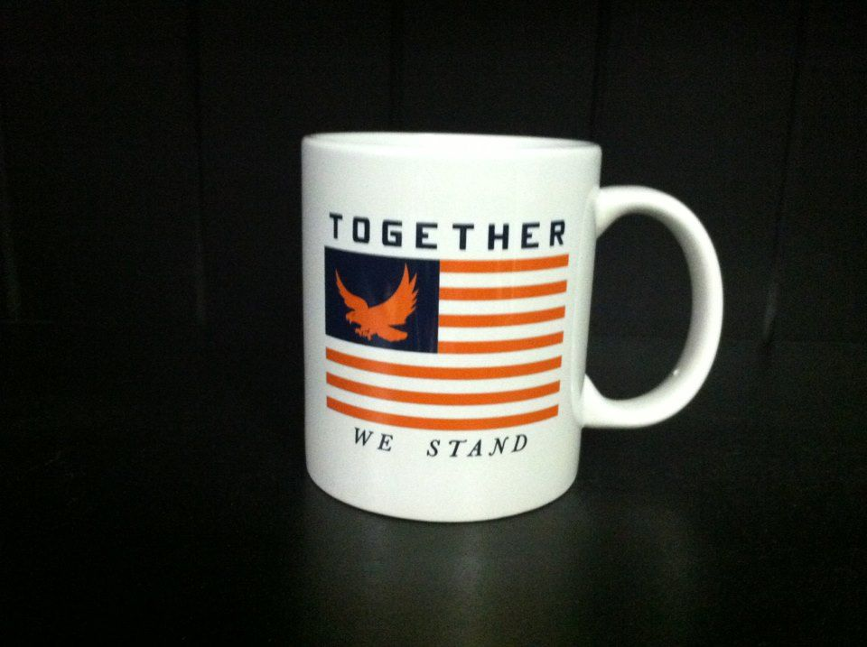 Auburn Together We Stand Coffee Mug Auburn Mugs Auburn University