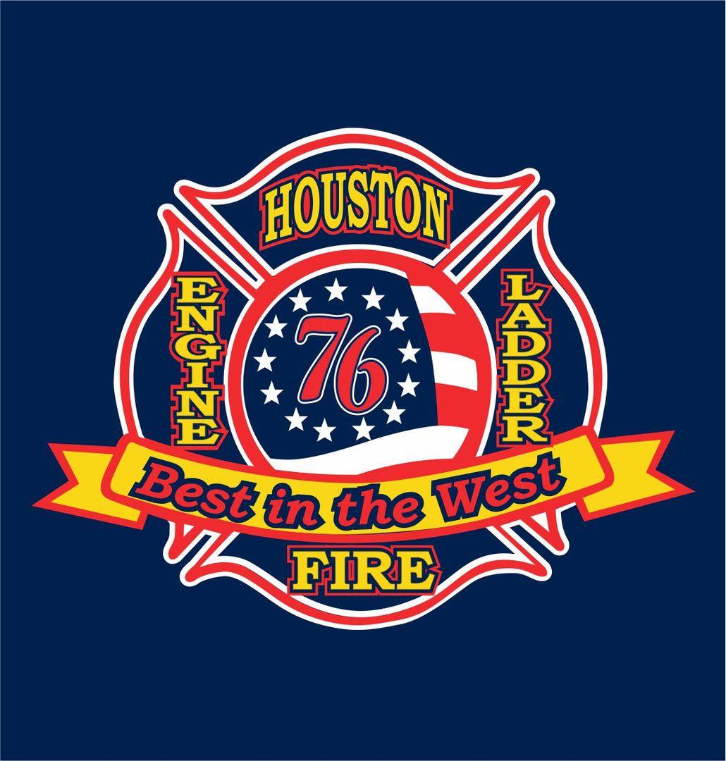 HOUSTON FIRE DEPT. station 76 Firefighter training, Fire