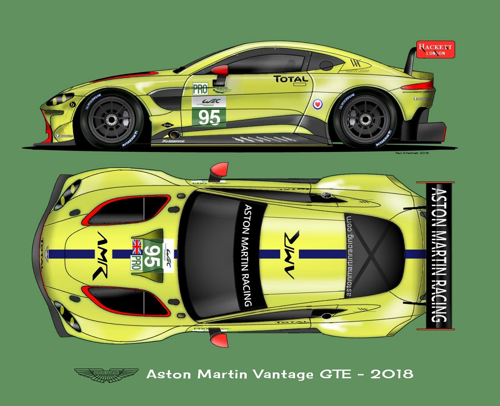 Race Car Stickers >> Aston Martin Vantage GTE 2018 | Art / shirts | Pinterest | Aston martin vantage, Aston martin ...