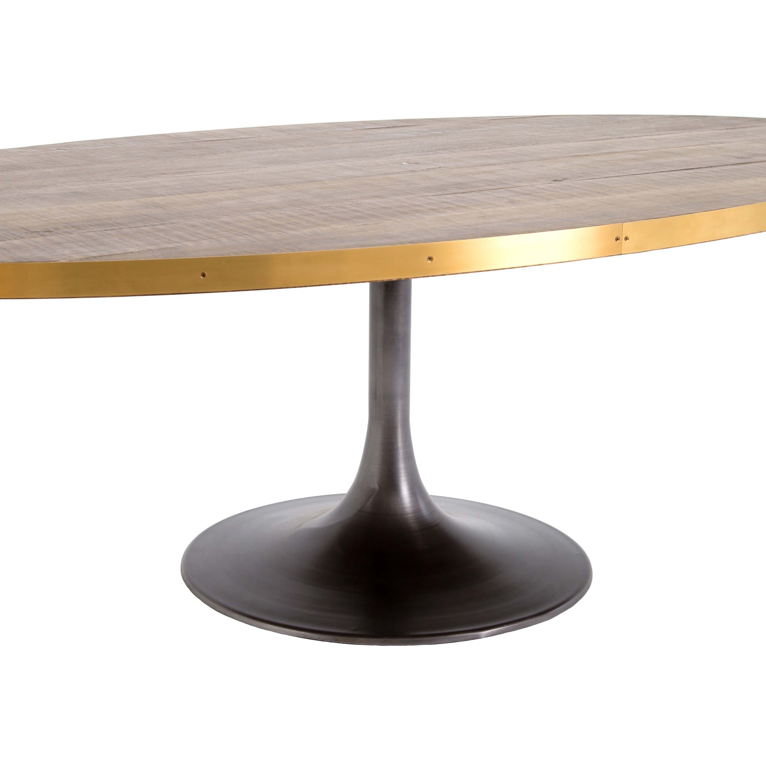 Evans Oval Dining Table Dining Table Oval Table Dining Dining