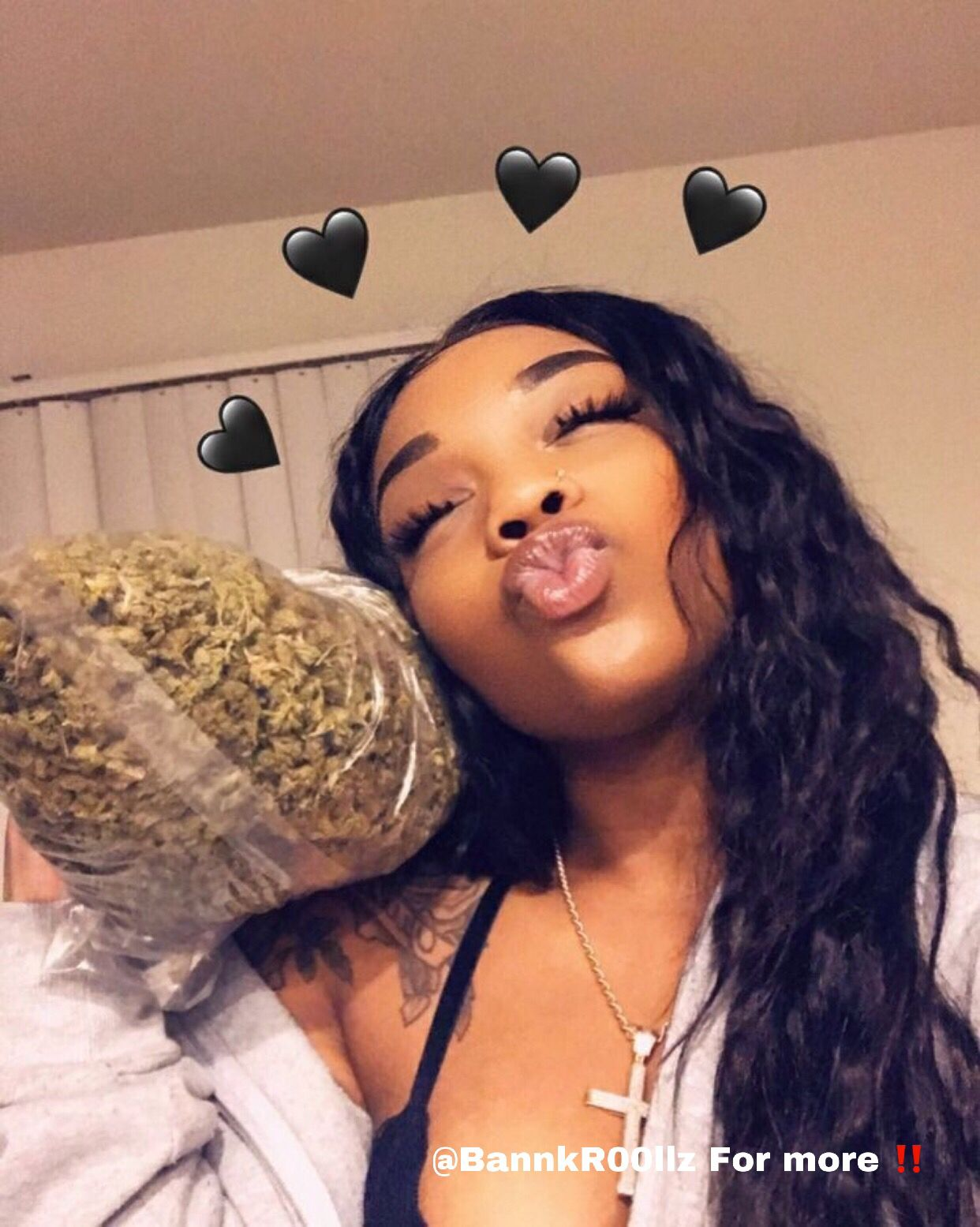 Pin by XOXO_GOODVIBES  on BAD GIRLS PERIOD | Weed, Thug girl