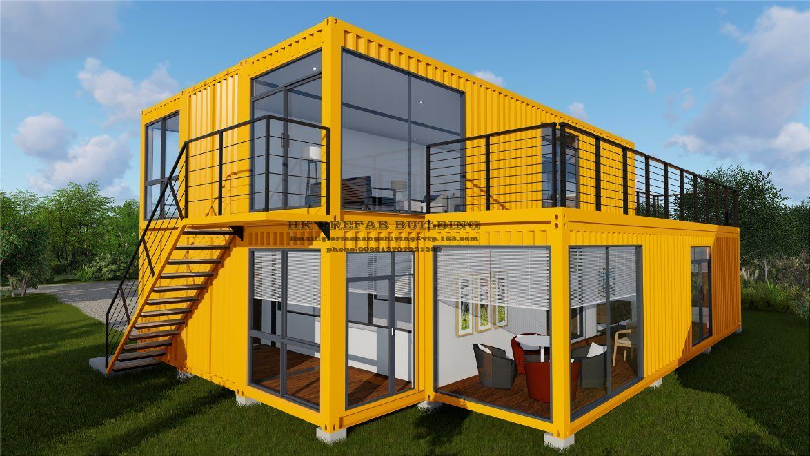 Modular Prefab Prefabricated Container House China Container