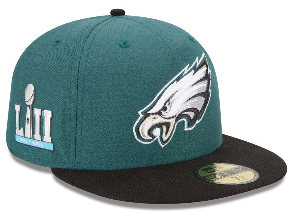 Grab a Lids Exclusive New Era Super Bowl LII Team Basic Patch 59FIFTY  Cap-available now! aaf467dc2b2