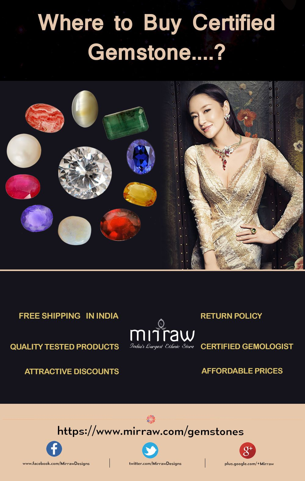 To buy certified Gemstones at affordable prices, visit a