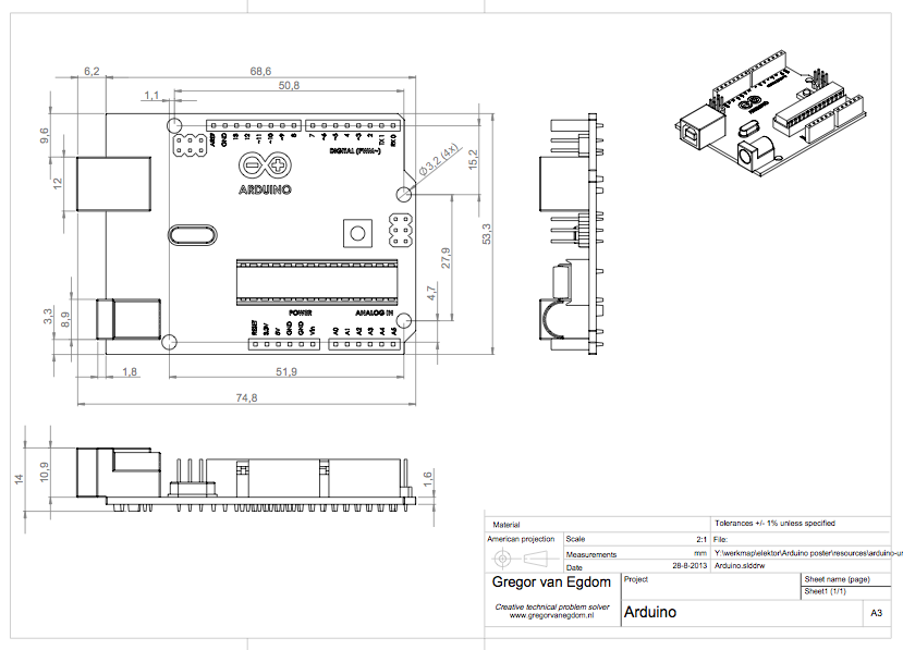 arduino uno technical drawing pdf