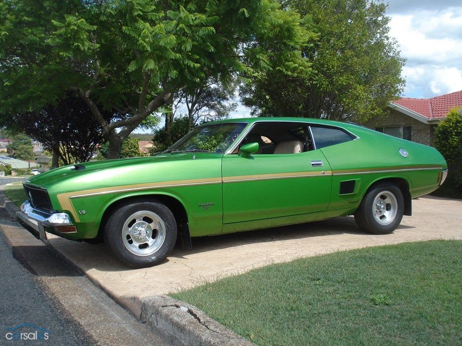 1975 Ford Falcon XB 500 Coupe | Cars | Pinterest | Ford falcon ...