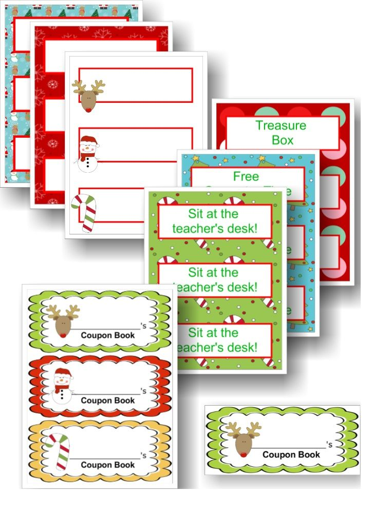 christmas classroom coupon books teacher s helper pinterest