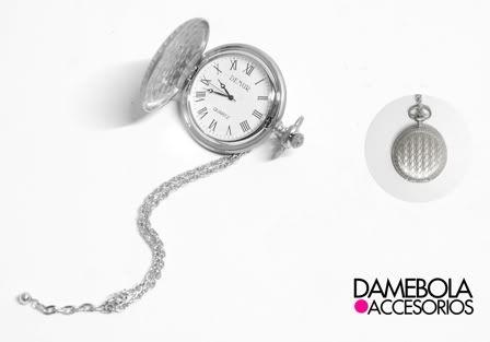 Collar Reloj Isabella   http://facebook.com/damebola.accesorios //