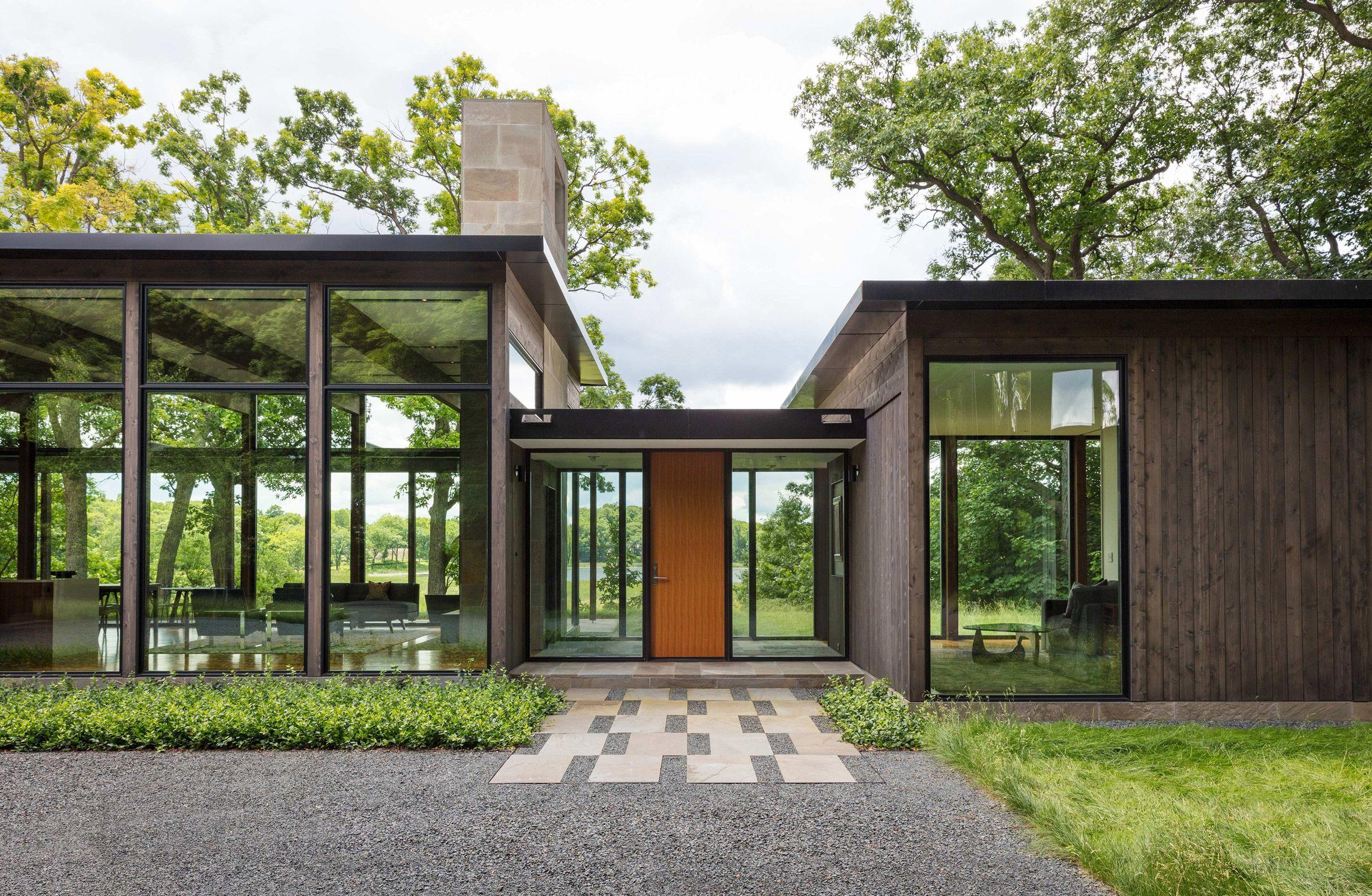 The woodland house minnesota altus architecture design also rh pinterest